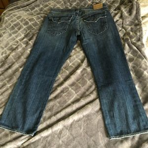 True religion straight relaxed fixed jeans